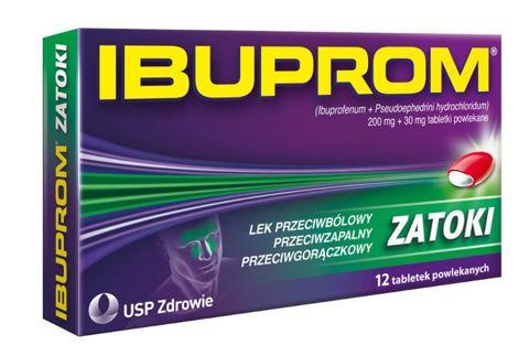 IBUPROM ZATOKI x 12 tabletek