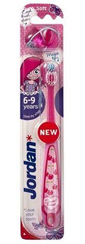JORDAN Step by step szczoteczka do zębów dla dzieci 6-9 lat
