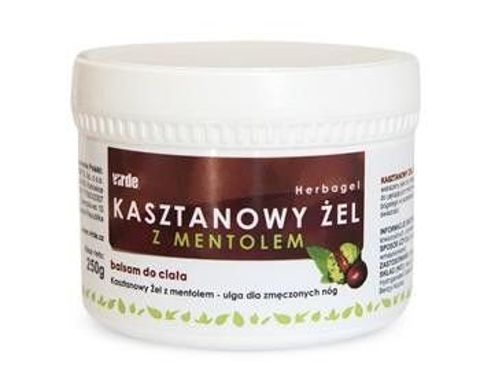KASZTANOWY ŻEL Z MENTOLEM 250ml