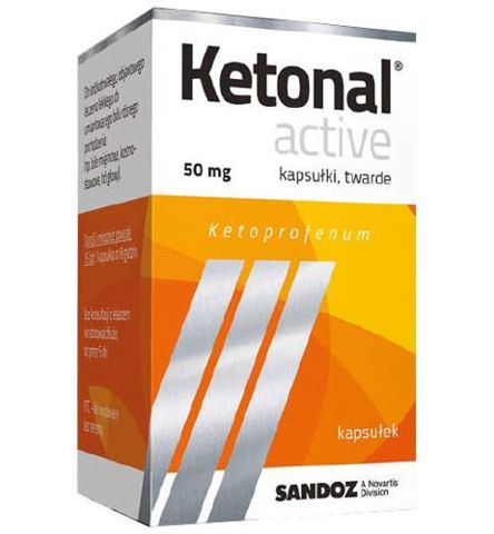 Ketonal Active x 20 kapsułek