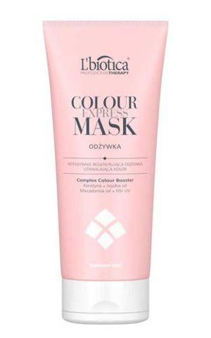 L'biotica Professional Therapy Colour Express Mask Odżywka utrwalająca kolor 200ml