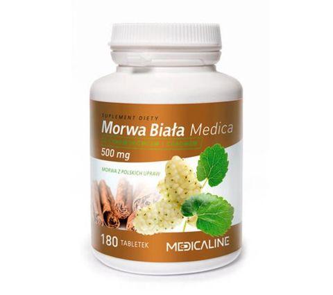 Morwa biała Medica 500mg x 180 tabletek