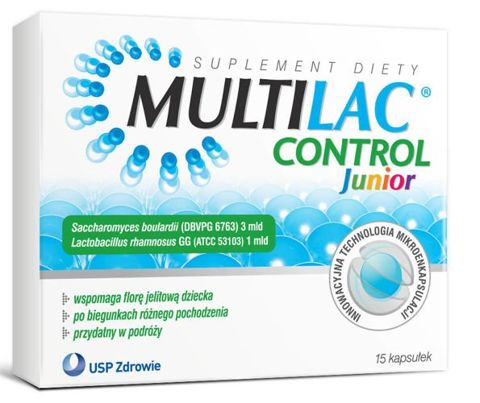 Multilac Control Junior x 15 kapsułek