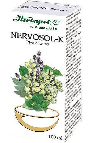 NERVOSOL-K krople 100g