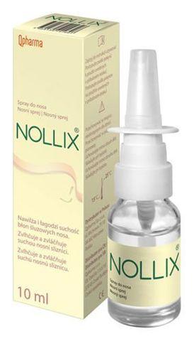 NOLLIX Spray do nosa 10ml
