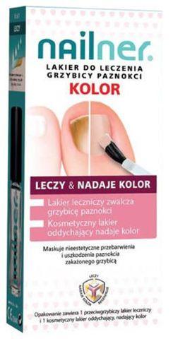 Nailner Kolor Lakier do paznokci 5ml x 2 sztuki