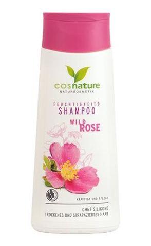 Naturalny nawilżający szampon do włosów z dziką różą 200ml