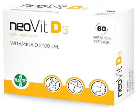 Neovit D3 x 60 kapsułek