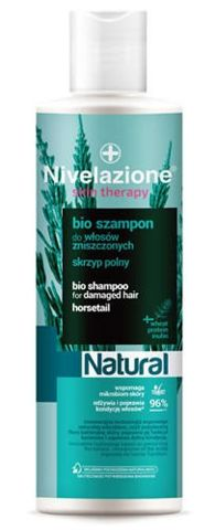 Nivelazione Skin Therapy Natural Bio szampon do włosów zniszczonych 300ml