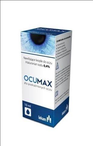 OCUMAX 0,4% krople do oczu 10ml