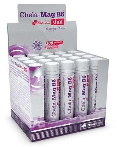 OLIMP Chela-Mag B6 Skurcz Shot smak grejpfrutowy x 1 ampułka 25ml