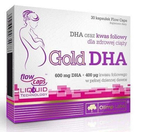 OLIMP Gold DHA x 30 kapsułek - data ważności 09-11-2019r.