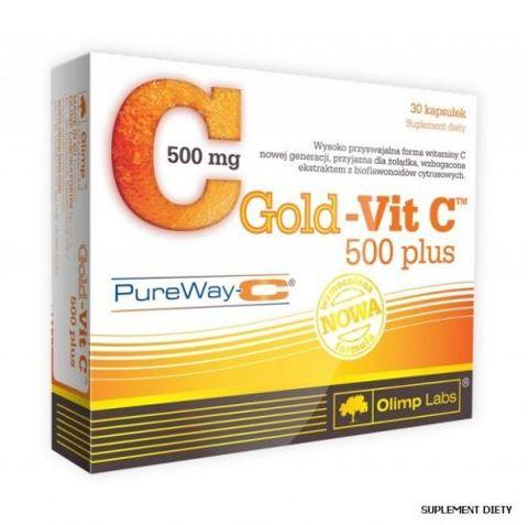OLIMP Gold-Vit C 500 Plus x 30 kaps.