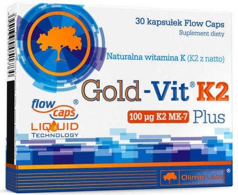 OLIMP Gold-Vit K2 Plus x 30 kapsułek