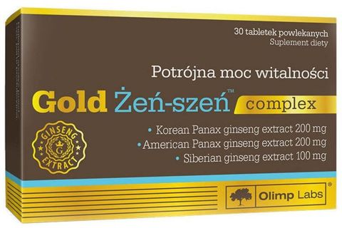 OLIMP Gold Żeń-Szeń complex x 30 tabletek