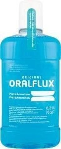 ORALFLUX ORIGINAL Płyn do płukania jamy ustnej 500ml