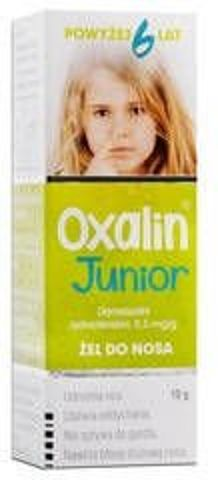 OXALIN Junior 0,05% żel 10g
