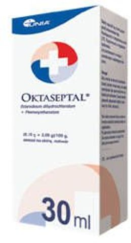 Oktaseptal aerozol na skórę roztwór 30ml