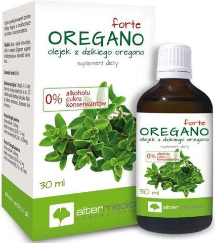 Oregano Forte olejek z dzikiego oregano 30ml