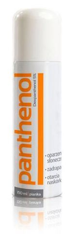 PANTHENOL 5% pianka 150ml