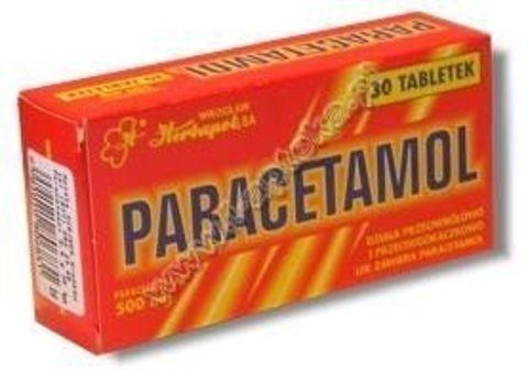 PARACETAMOL x 30 tabletek