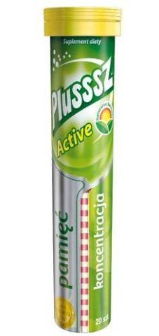 PLUSSSZ Active x 20 tabl.mus.