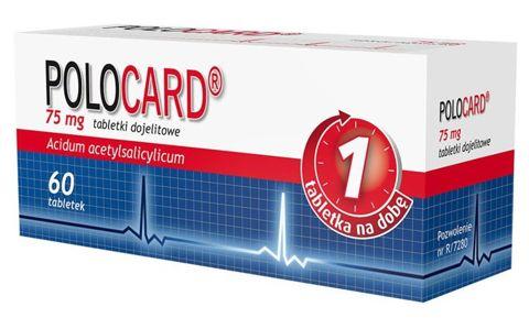 POLOCARD 0,075 x 60 tabletek