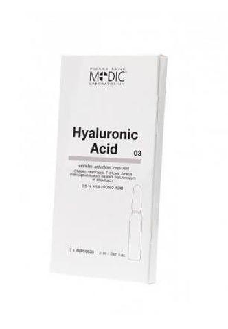 PR MEDIC Hyaluronic Acid x 7 ampułek