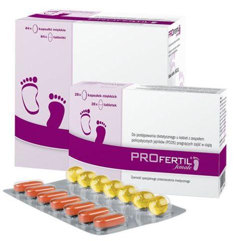 PROFertil female 84 kapsułki + 84 tabletki