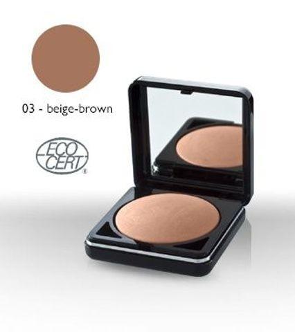 PUDER brązujący wypiekany 03 - Beige-Brown 9 g