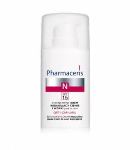 Pharmaceris N Opti-Capilaril krem redukujący cienie i worki pod oczami  15ml