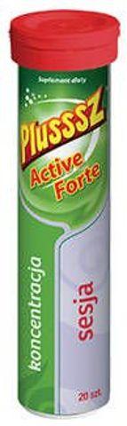 Plusssz Active Forte x 20 tabletek musujących