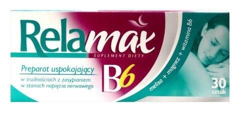 RELAMAX B6 x 30 tabletek
