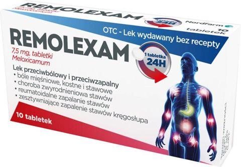 Remolexam 7,5mg x 20 tabletek