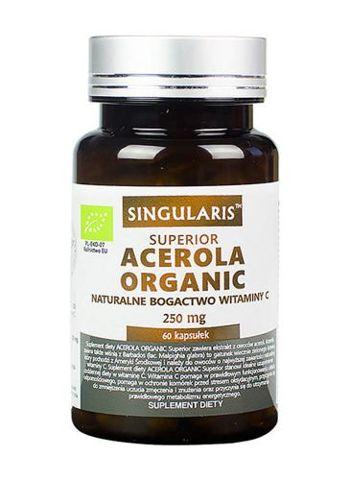 SINGULARIS Acerola organiczna 17% 250mg x 60 kapsułek