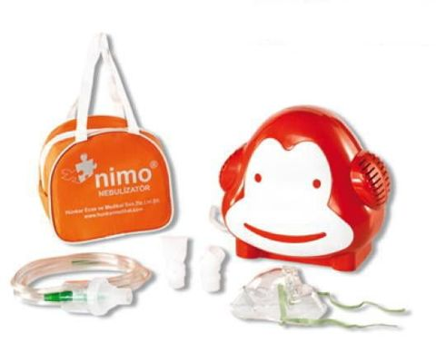 SOHO Inhalator Nimo Małpka dla dzieci x 1 sztuka