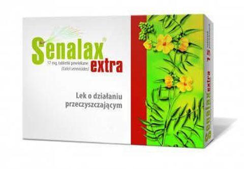 Senalax Extra 17mg x 30 tabletek