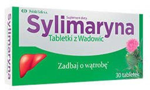 Sylimaryna Tabletki z Wadowic x 30 tabletek