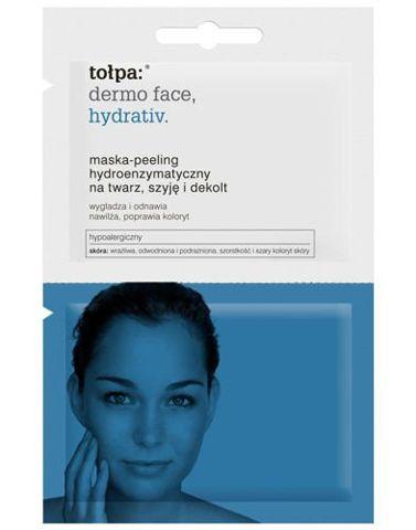 TOŁPA DERMO FACE HYDRATIV Maska-Peeling hydroenzymatyczny 2x6ml