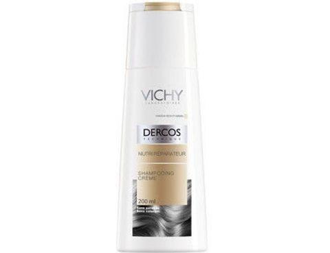 VICHY DERCOS Szampon w kremie odżywczo-regenerujący do włosów suchych 200ml