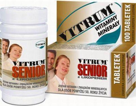 VITRUM SENIOR Z likopenem x 30 tabletek