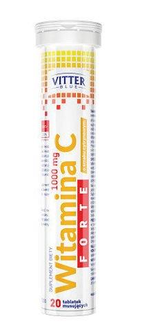 WITAMINA C 1000mg Forte x 20 tabletek musujących