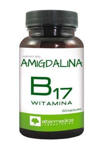 Witamina B17 Amigdalina x 60 kapsułek