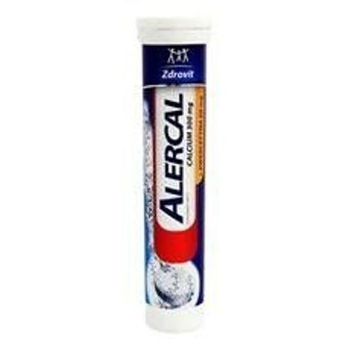 ZDROVIT Alercal Calcium+Kwercetyna complex x 20 tabletek musujących