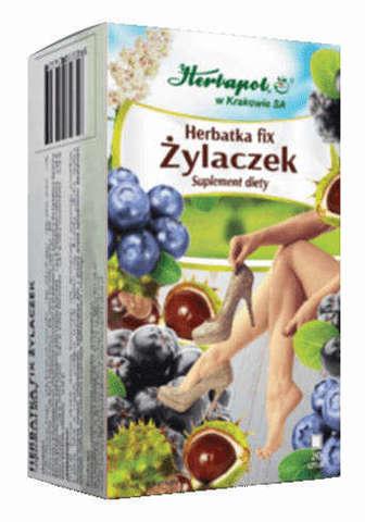 ŻYLACZEK Herbatka Fix 2g x 20 saszetek